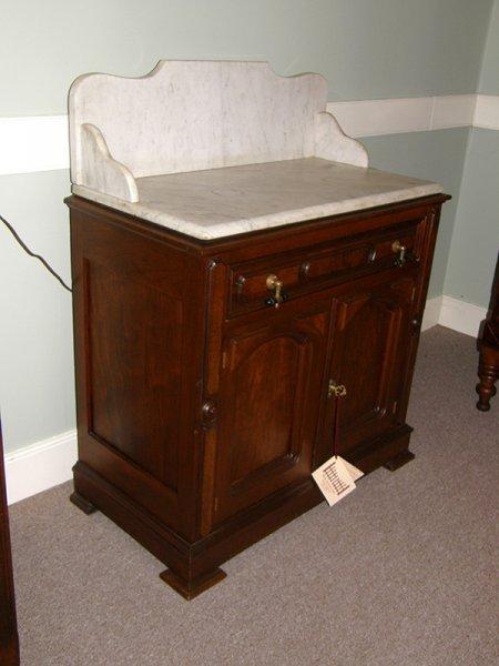 Walnut Marble Top Washstand Gates Antiques Ltd