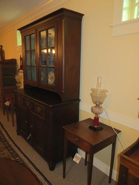 Walnut Stepback Cupboard - Walnut Stepback Cupboard Gates Antiques Ltd. Richmond, VA