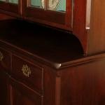 Walnut Stepback Cupboard